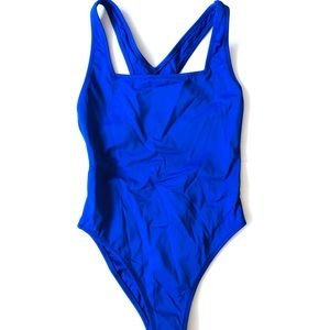 NWOT Outdoor Voices Blue Swimsuit